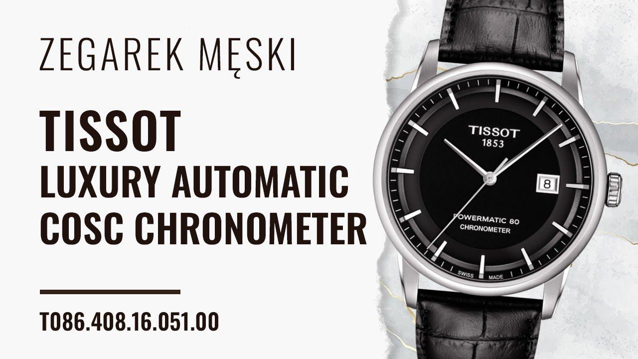 Tissot Powermatic 80 Chronometer Automatic Watches For Men