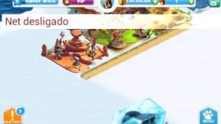 Ice Age Village Tudo Infinito APK MOD.