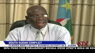 South Sudan conflict causes business slump