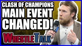 WWE Clash Of Champions Main Event Changed! WWE Smackdown LIVE, Dec. 12, 2017 Review