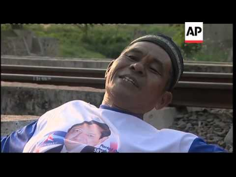People lie on railway tracks in hope of curing ailments