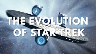 The Evolution of Star Trek in Television & Film (50 Years of Trek)