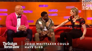 Jodie Whittaker Could Have Died | The Graham Norton Show | Friday at 11pm | BBC America