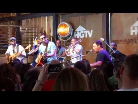 Jake Owen - American Country Love Song live at the CMA Fest HGTV Lodge 6/9/16