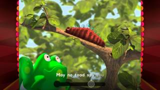Caterpillar Story Book with Voice for Kids by Agnitus (Interactive 3D Nursery Rhyme)