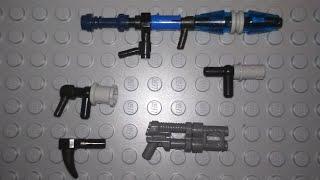 видео лего самоделки оружие как сделать