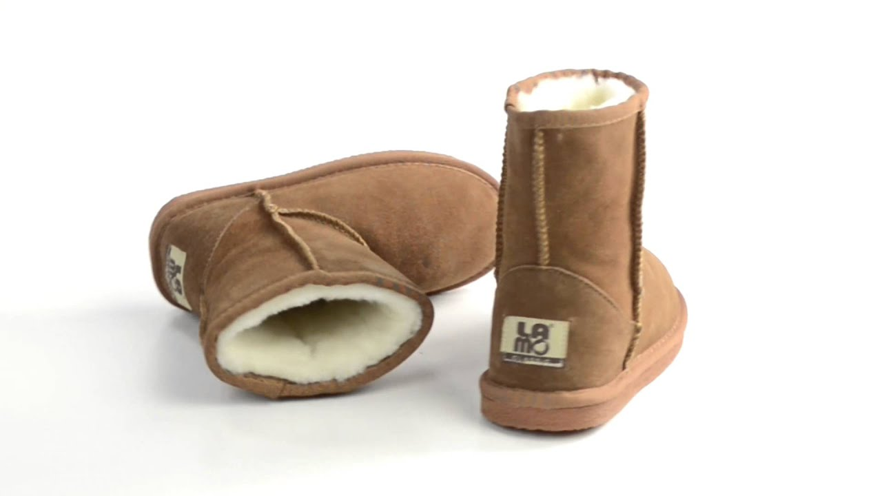 b135e656d63 Lamo Suede Sheepskin Boots (For Youth, Boys and Girls)