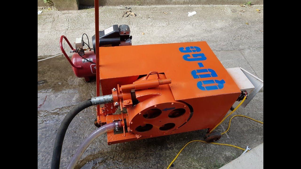 Chuyên cung cấp Máy Phun Vữa Trát Tường Chạy Điện 220