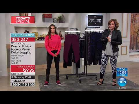 HSN | Warrior by Danica Patrick Fashions 10.19.2017 - 02 PM