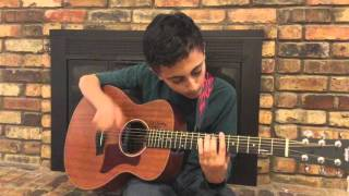 Message in a Bottle by Sting and The Police, fingerstyle guitar by Noah