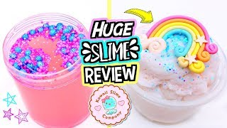 100% HONEST Slime Review! Buying The CUTEST Slimes I Could Find!