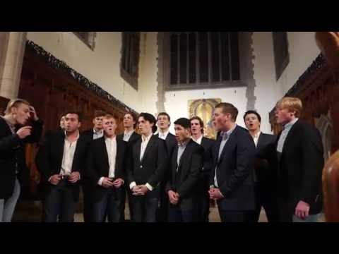 Gulf War Song (A Cappella) - The Trinity College Accidentals