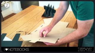 I LOVE NOTEBOOKS - building the notebook stand