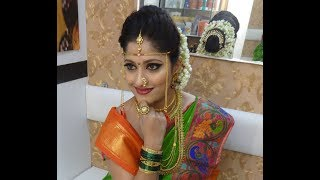 MAHARASHTRIAN BRIDE || BRIDAL MAKEOVER || BRIDES OF INDIA.