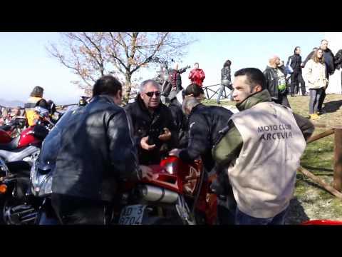 3 marzo 2013 - Monte S. Angelo di Arcevia - 6° Motobenedizione.