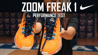 NIKE ZOOM FREAK 1 - PERFORMANCE TEST