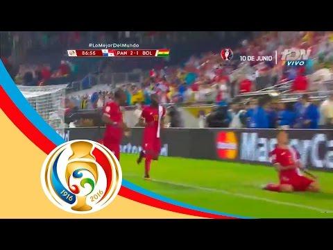 Gol de Blas Pérez | Panamá 2-1 Bolivia | Televisa Deportes