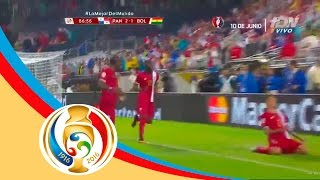 Gol de Blas Pérez   Panamá 2-1 Bolivia   Televisa Deportes
