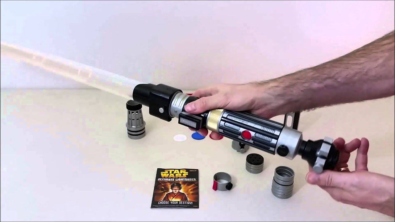 star wars ultimate lightsaber kit making your own lightsabers youtube