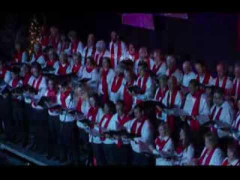 Mass Choir Singing the Hallelujah Chorus