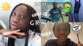 GRWM: FIRST DAY OF SCHOOL *FRESHMAN AND 6TH GRADE* BL And Trin #84
