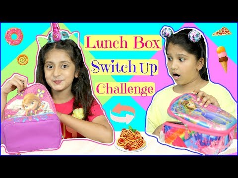 LUNCH Box SWITCH UP Challenge... | #SchoolLife #Fun #Kids #MyMissAnand