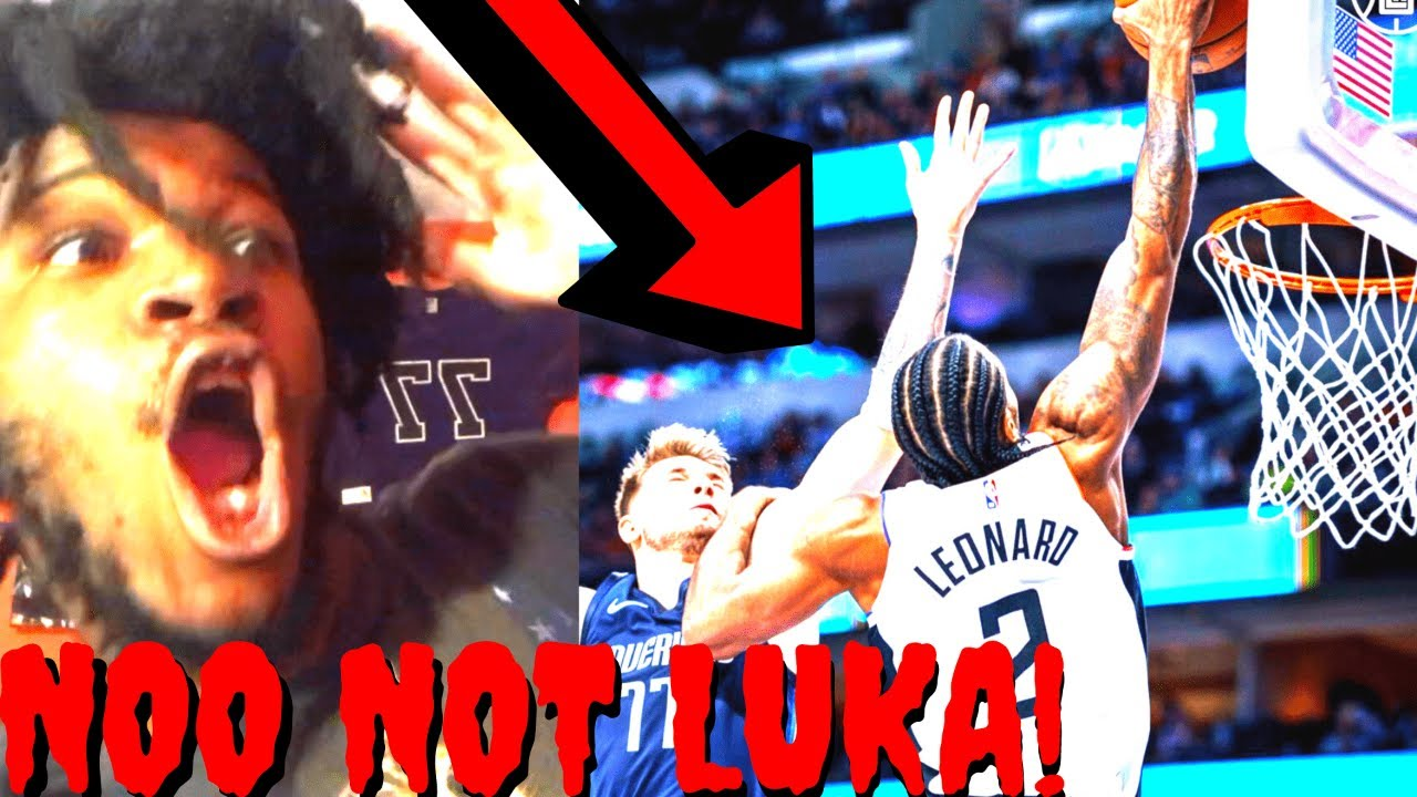 Los Angeles Clippers Vs Dallas Mavericks Reaction Full Highlights 2020 Kawhi Dunk On Luka