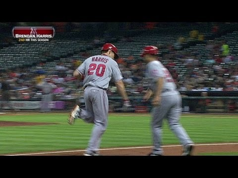 LAA@HOU: Harris lines a homer to left-center field
