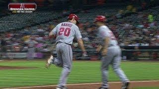 LAA@HOU: Harris lines a homer to left-center field