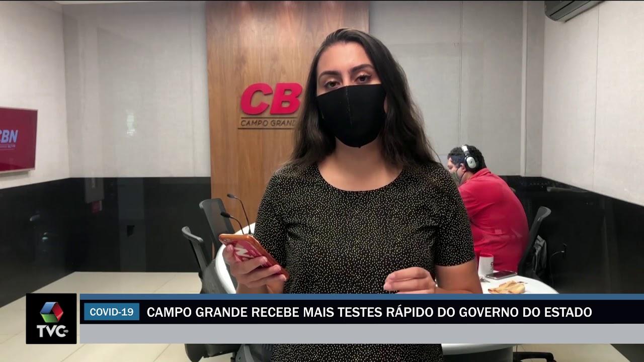 Campo Grande, recebe mais testes rápidos do governo do estado