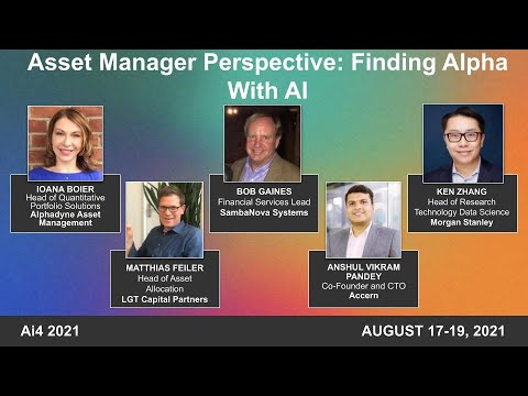 Asset Manager Perspective: Finding Alpha With AI