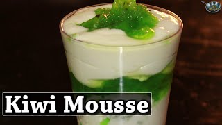 Kiwi Mousse  II कीवी मूस II  By Chef Aishwarya Paul II