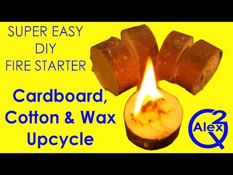 Mini Project #9: DIY Wax & Cotton Ball Fire Starters
