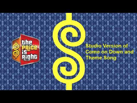 The Price Is Right - Current Come on Down & Theme (Studio Version)