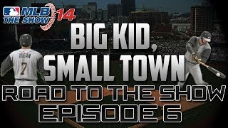 "MLB 14 The Show (PS4) RTTS: ""Big Kid, Small Town"" [Ep. 6] - AAA Pitching is No Match for Me!"