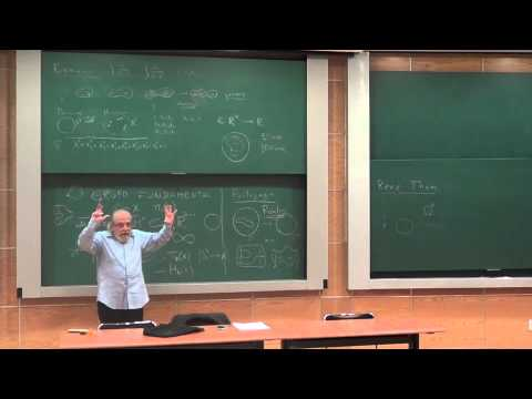 Conferencia: «Topología Diferencial» Santiago López de Medrano, IMUNAM