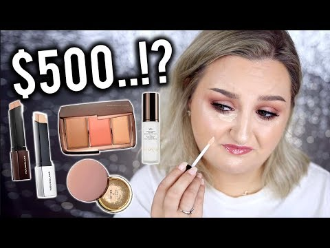 I TRIED $500 WORTH OF HOURGLASS MAKEUP .. WORTH IT?