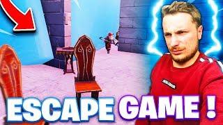 LE PLUS BEL ESCAPE GAMES DE FORTNITE !! #1