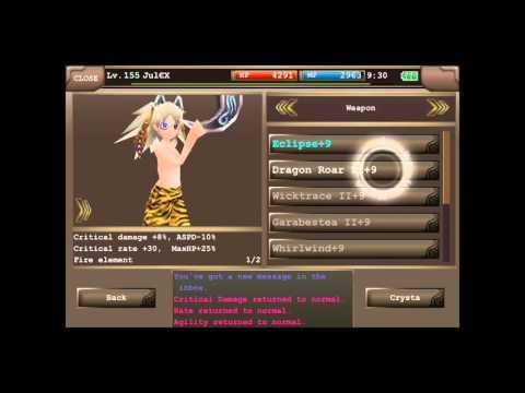 iruna online assassin equipment