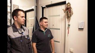 видео Установка охраной системы в квартире