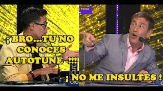 BRONCA EN VIVO POR EL AUTOTUNE ENTRE TONY SUCCAR Y MAURI STERN (YO SOY PERÚ 05/02/21)