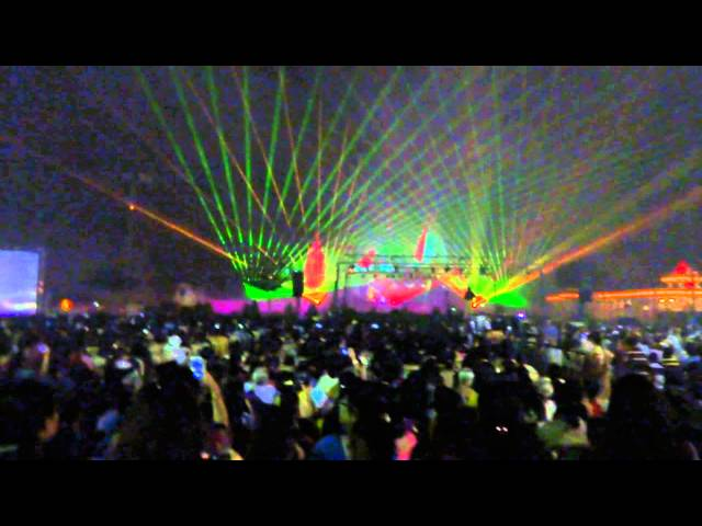 BAPS Diwali - 2012 -laser show Travel Video
