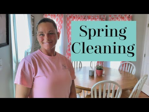 Spring Cleaning | Cleaning the Curtains | Heavy Duty Clean