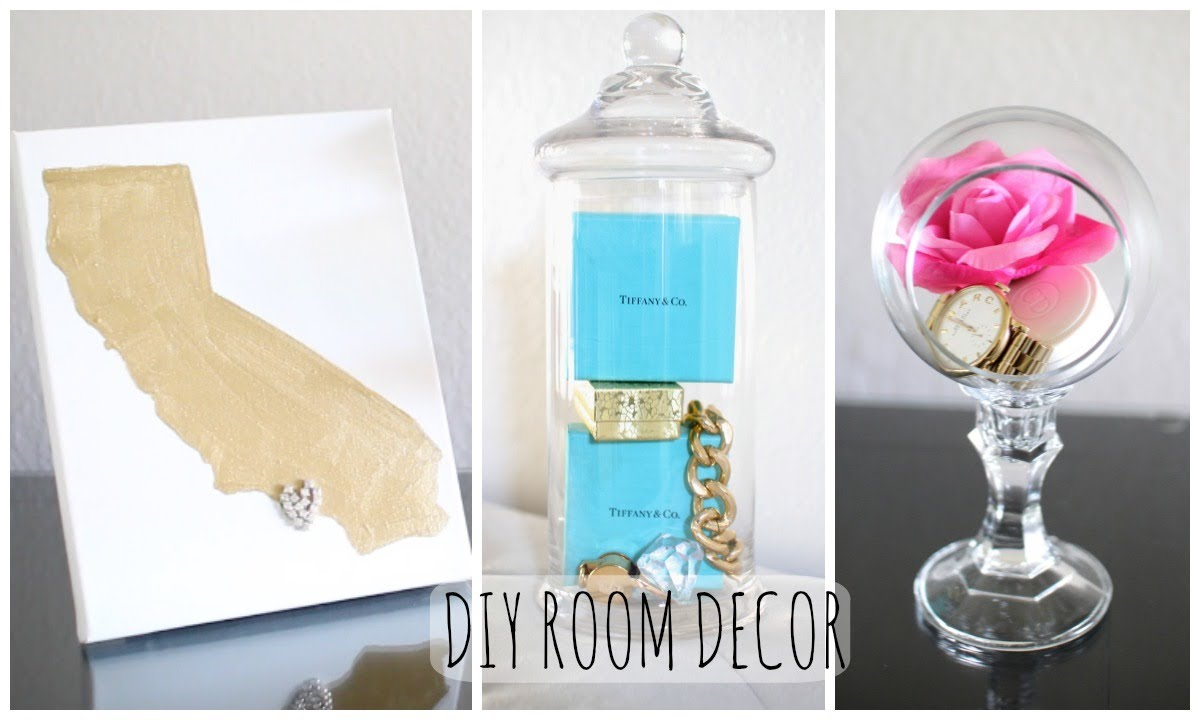 Diy room decor cute affordable youtube for Cute room accessories