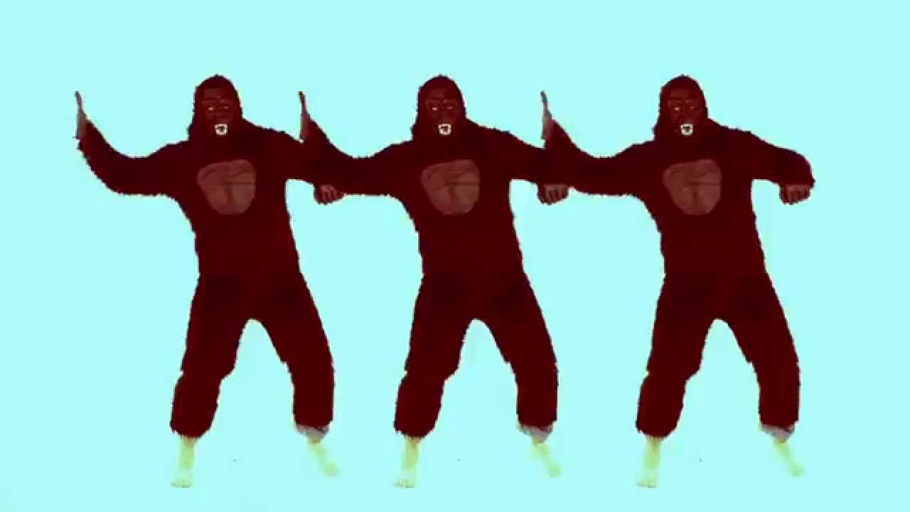 Halloween 2015 Costume - Gorilla Dance - Silento