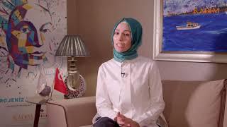 İnovasyonda Kadın Projesi 4. Girişimcilik Kampı - KADEM Başkan Yardımcı Sümeyye Erdoğan Bayraktar