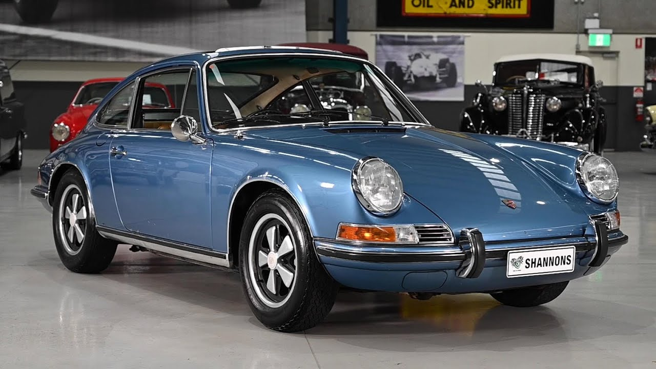 1972 Porsche 911E 2.4 Coupe -  2020 Shannons Winter Timed Online Auction