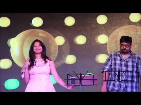 Geetha Madhuri & M.L.R Karthikeyan'sperformance at #Lavaza