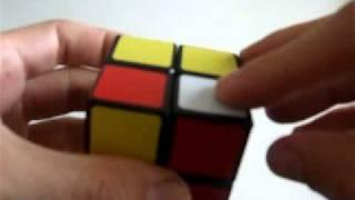 Como resolver o cubo mágico 2x2x2 - método das camadas