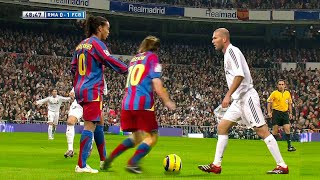 Ronaldinho & Messi Masterclass in El Classico 2005